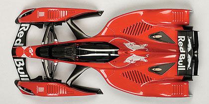 Red Bull X2010 (2010) Autoart 1:18 Rojo