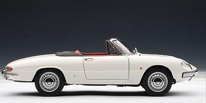 Alfa Romeo 1600 Duetto (1966) Autoart 1/18 Blanco