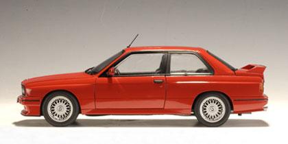 BMW M3 Evolution Sport -E30- (1990) Autoart 1:18 Rojo
