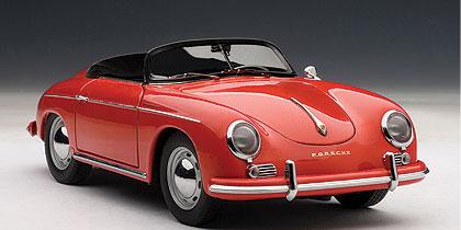 Porsche 356A Speedster (1955) Autoart 1/18 Rojo