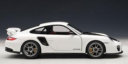 Porsche 911 GT2 RS -997- (2010) Autoart 1:18 Blanco capó negro