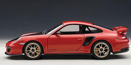 Porsche 911 GT2 RS -997- (2010) Autoart 1:18 Rojo Capó Negro