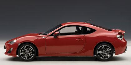 Toyota GT86 (2012) Autoart 1:18 Rojo