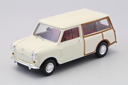 Mini Morris Traveller (1961) Ebbro 1/43 Blanco