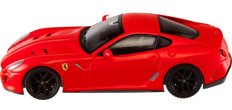 Ferrari 599 GTO (2010) Hot Wheels 1/43 Rojo