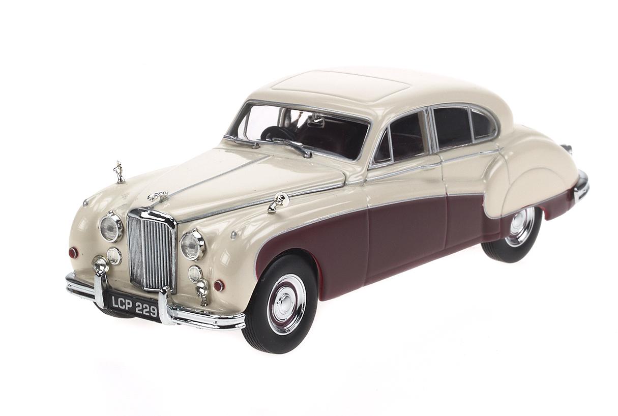 Jaguar Mk IX (1959) Oxford 1/43 Crema - Marrón