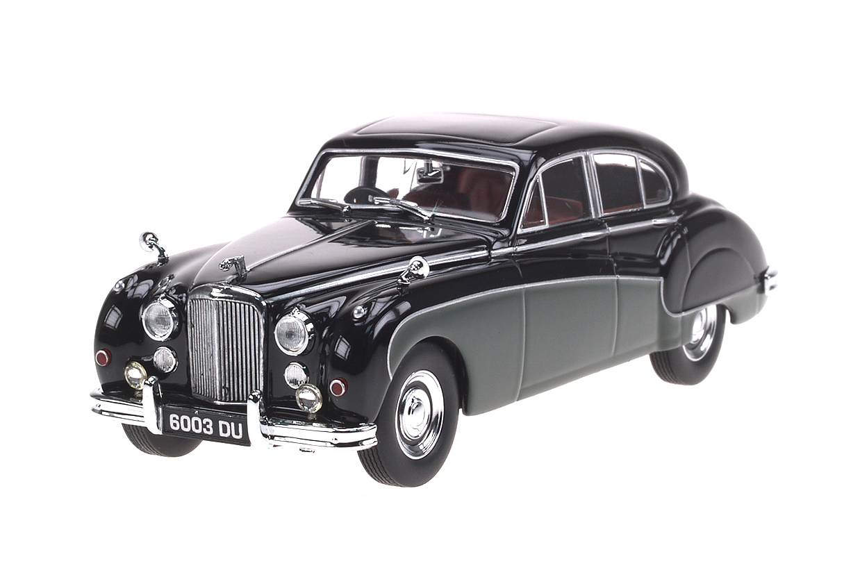 Jaguar Mk IX (1959) Oxford 1/43 Negro - Verde