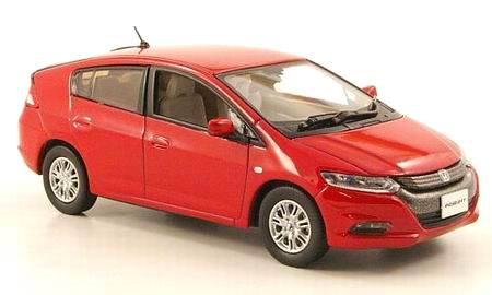 Honda Insight (2009) JCollection 1/43 Rojo