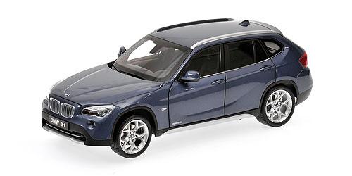 BMW X1 -E84- (2009) Kyosho 08791 1/18 Azul Grafito
