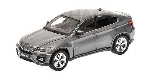 BMW X6 XDrive 501 -E70- Kyosho 1/18 Gris Metalizado