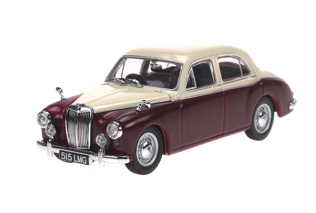 MG ZA Magnette (1953) Oxford 1/43 Beige - Rojo