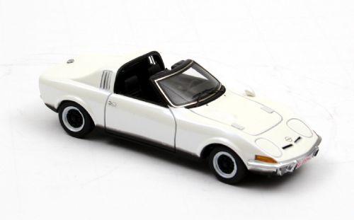 Opel GT Aero (1969) Neo 1/43 Blanco Techo Abierto