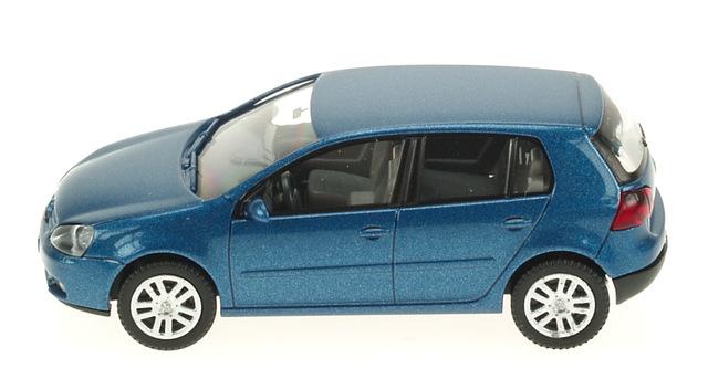 Volkswagen Golf 5p. Serie V (2003) Wiking 1/87 Azul Metalizado