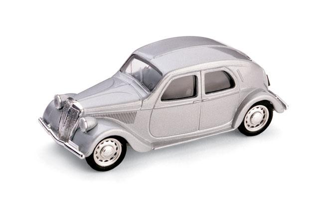 Lancia Aprilia Serie II (1936) Brumm 1/43 Gris Metalizado