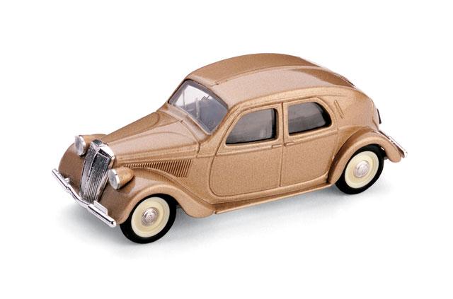 Lancia Aprilia Serie II (1936) Brumm 1/43 Beige Metalizado