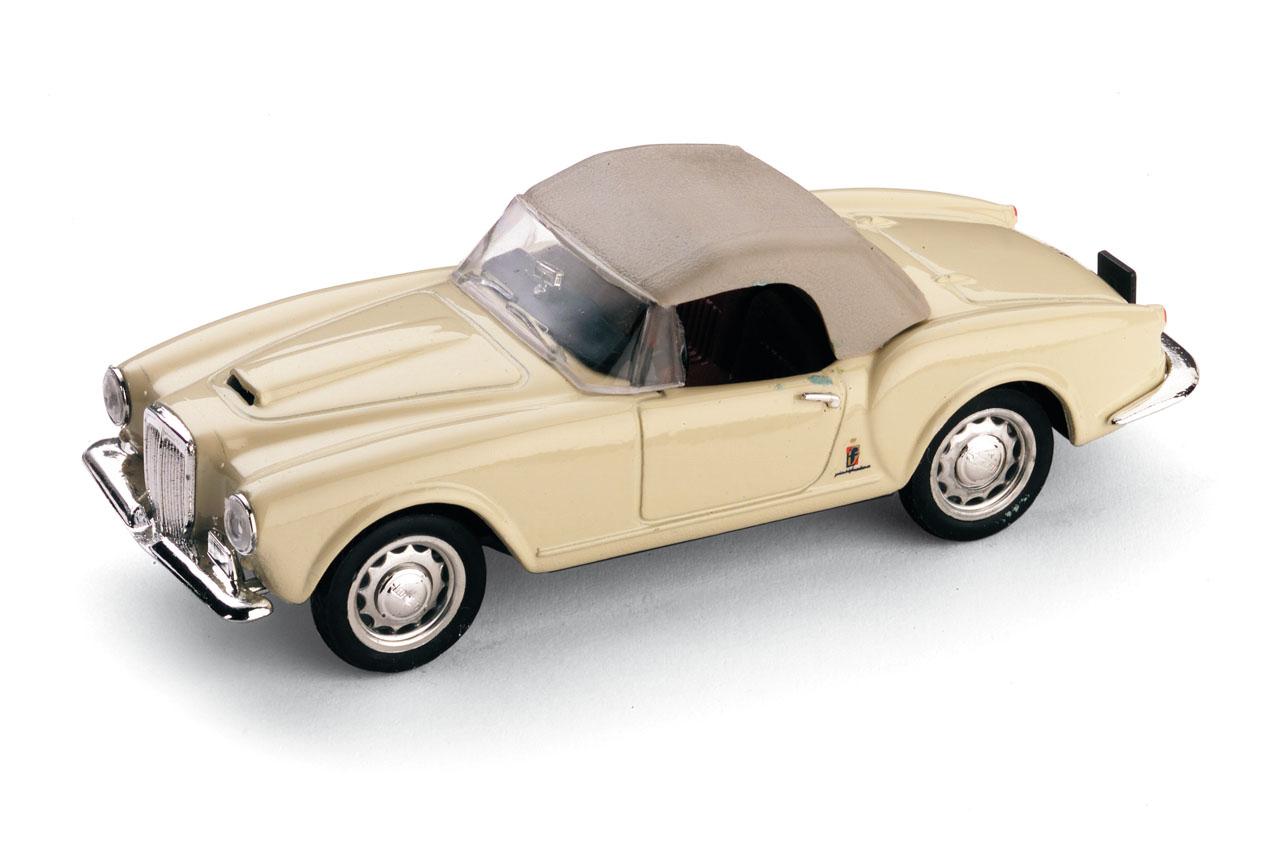 Lancia Aurelia B24 Spider America (1956) Brumm 1/43 Beige Capota Cerrada