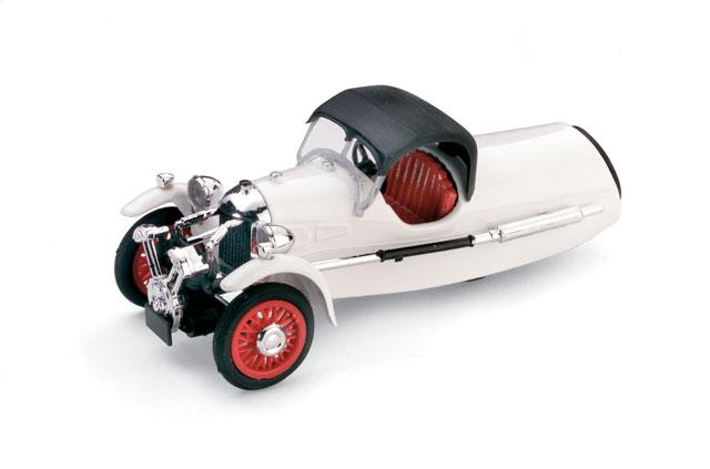 Morgan MX-4 Super Sport (1935) Brumm 1/43 Blanco Capota Cerrada
