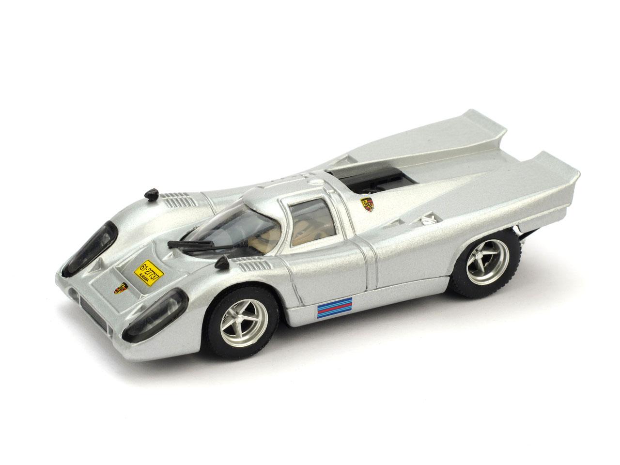 Porsche 917K Stradale (1975) Brumm R385 1/43 Gris Plata