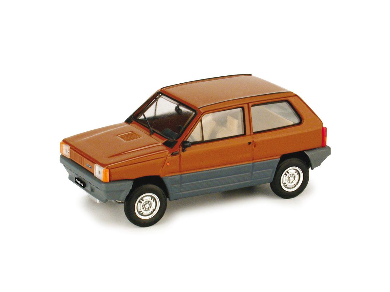 Fiat Panda 30 (1980) Brumm 1/43 Marrón Land