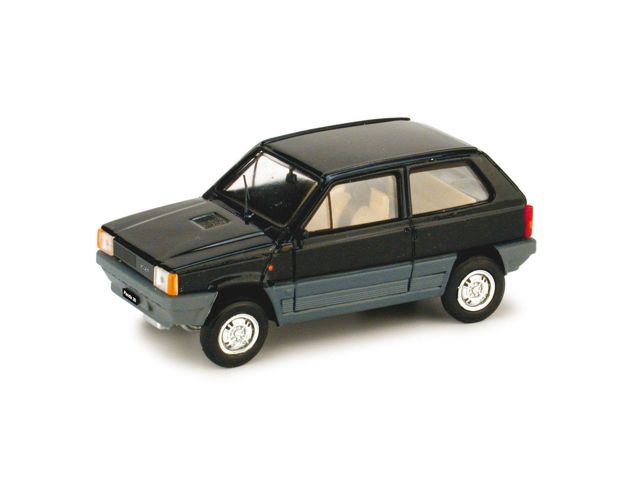 Fiat Panda 30 (1980) Brumm 1/43 Negro Luxor