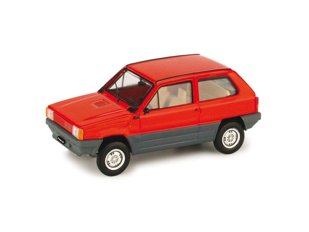 Fiat Panda 30 (1980) Brumm 1/43 Rojo Siam