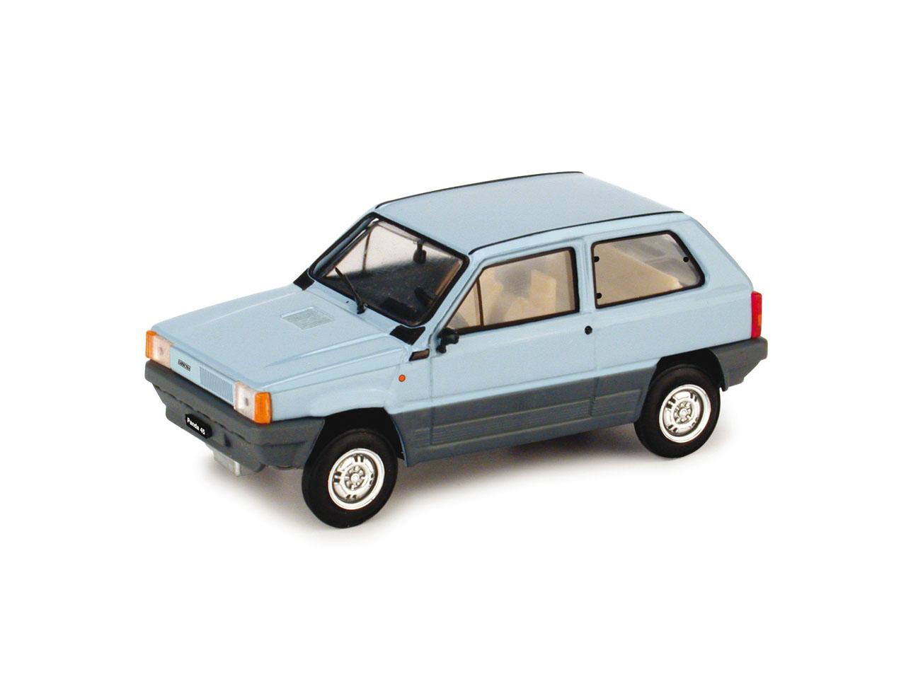 Fiat Panda 45 (1980) Brumm 1/43 Azul Bahía