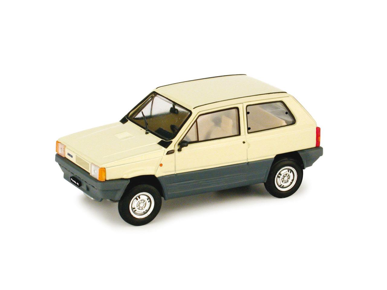 Fiat Panda 45 (1980) Brumm 1/43 Blanco senegal