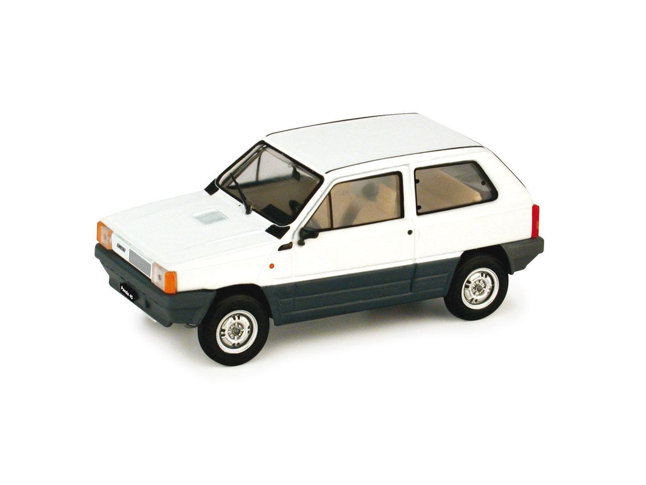 Fiat Panda 45 (1980) Brumm 1/43 Blanco Corfu
