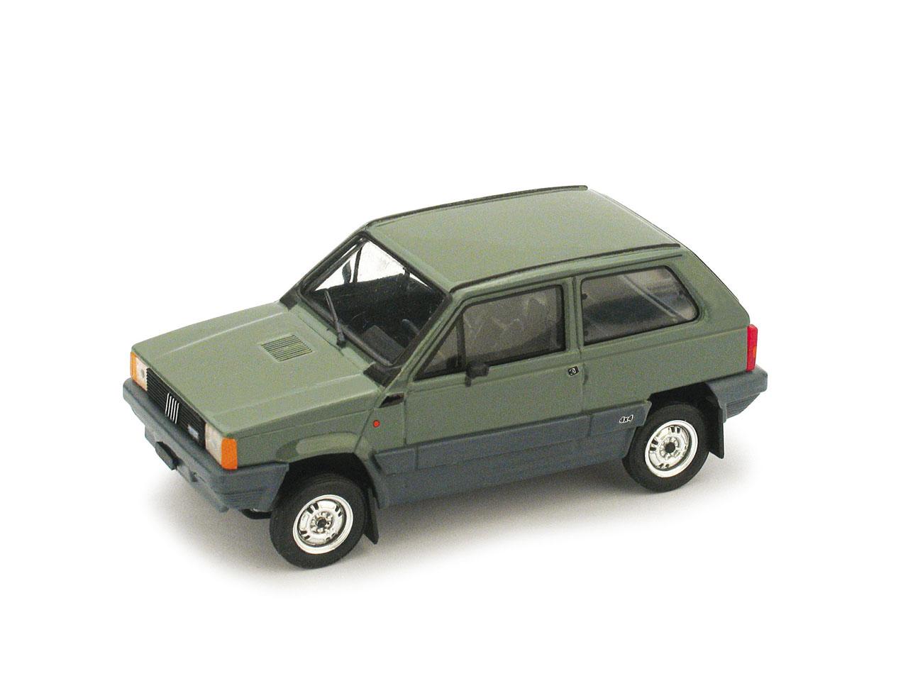 Fiat Panda 4x4 (1983) Brumm 1/43 Verde Alpi