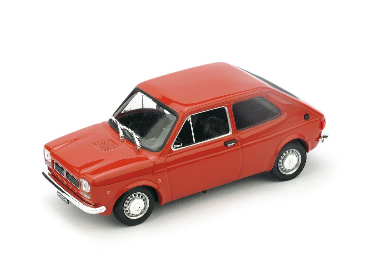 Fiat 127 (1971) Brumm 1/43 Rojo Coral