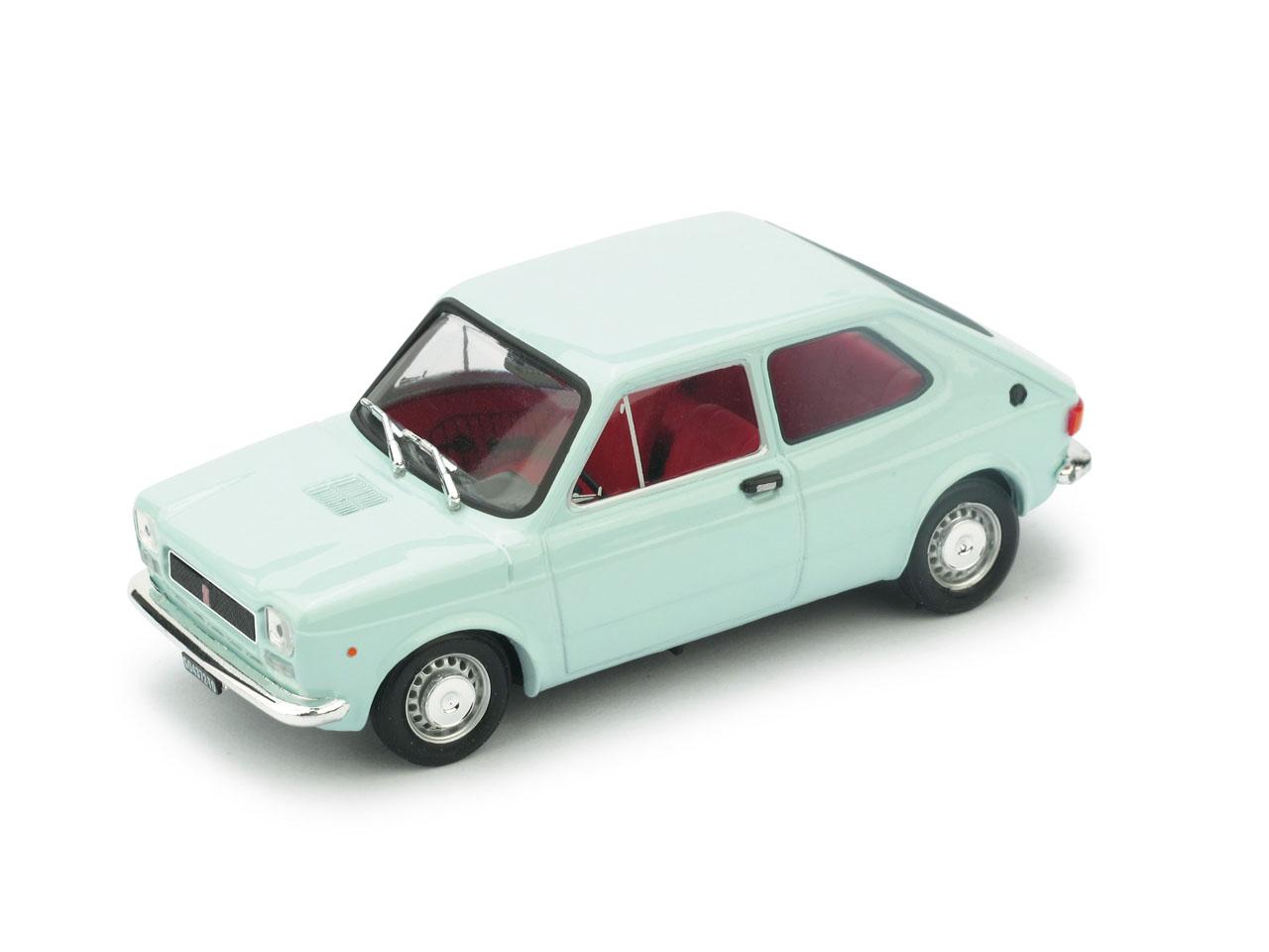 Fiat 127 (1971) Brumm 1/43 Azul CLaro