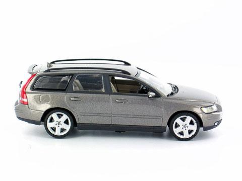 Volvo V50 Familiar (2003) Motorart 1/43 Gris Oscuro Metalizado