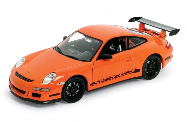 Porsche 911 GT RS -997- (2003) Welly 22495 1:24 Naranja