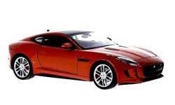 Jaguar F-Type Coupé (2013) Welly 1:24 Naranja Metalizado