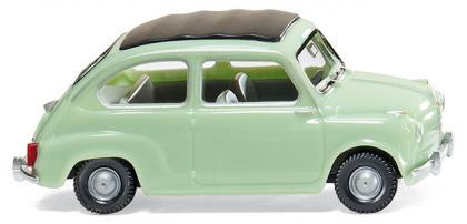 Fiat 600 (1956) Wiking 1/87 Verde Oliva