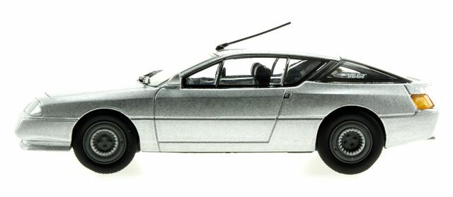 Alpine GT Serie 1 (1984) Eligor 1/43 Gris Metalizado