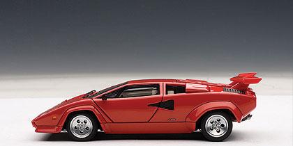 Lamborghini Countach 5000 S (1982) Autoart 1/43 Rojo