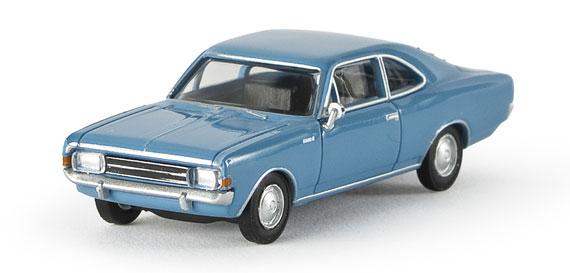 Opel Rekord C Coupé (1967) Brekina 20650 1/87 Azul