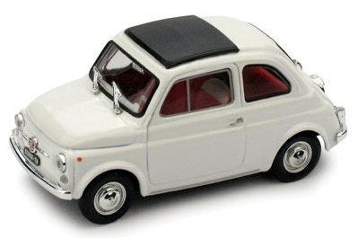 Fiat 500F Techo Cerrado (1965) Brumm 1/43 Blanco