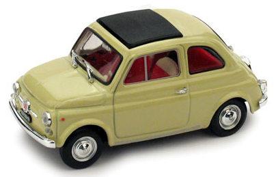 Fiat 500F Techo Cerrado (1965) Brumm 1/43 Blanco Roto