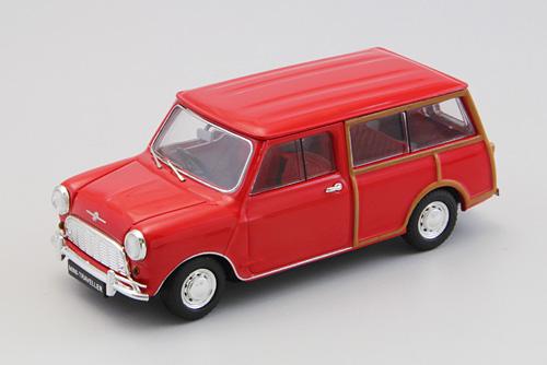 Mini Morris Traveller (1961) Ebbro 1/43 Rojo