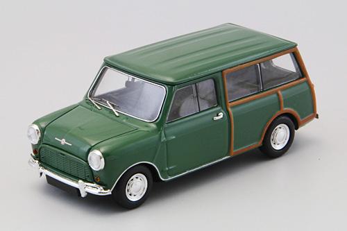 Mini Morris Traveller (1961) Ebbro 1/43 Verde Inglés