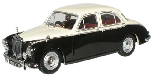 MG ZA Magnette (1953) Oxford 1/43 Beige - Negro