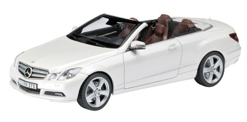 Mercedes Benz Clase E Cabriolet -C207- (2010) Schuco 1/43 Blanco Perlado