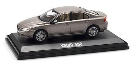 Volvo S80 (2006) MotorArt 1/43 Gris Ostra