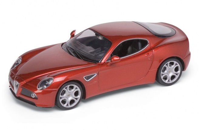 Alfa Romeo 8C Competizione (2007) Welly 1:24 Marrón metalizado