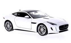 Jaguar F-Type Coupé (2013) Welly 1:24 Blanco