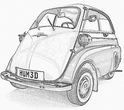 BMW 600 Isetta (1956-59)