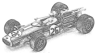 Brabham (1966-67) BT19