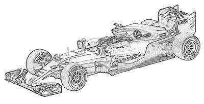 Mercedes (2016) W07
